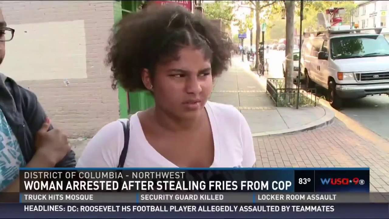 Would You Arrest a Woman for 'Stealing' 3 Fries from your Plate, This Officer would