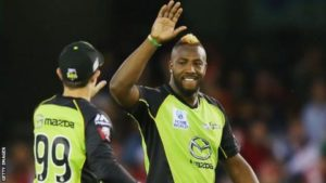 West Indies' Andre Russell given one-year ban for doping test rule breach