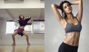 """Disha Patani grooves to the music of Ed Sheeran's """"Shape of You"""" and looks hot doing the dance moves for us"""