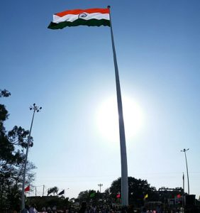 India Hoists Tallest National Flag at Indo-Pak Border! Pakistan Fears It Could be Spying!