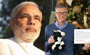 Bill Gates Sings the Praises of PM Modi for his Swachh Bharat Mission! Shows it with a Chart!