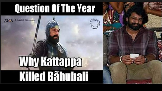 "Girl Asked Prabhas ""Why Katappa Killed Bahubali?"" His Answer was to the Point!"