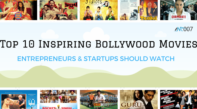 Top 10 Motivational Bollywood Movies for entrepreneur