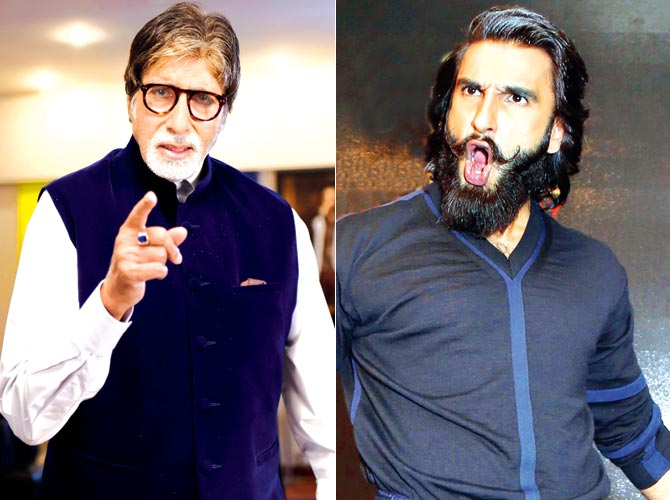Ranvir Singh Forgets to Reply to Big B's B-day Wishes! Here's How He Finally Does It!