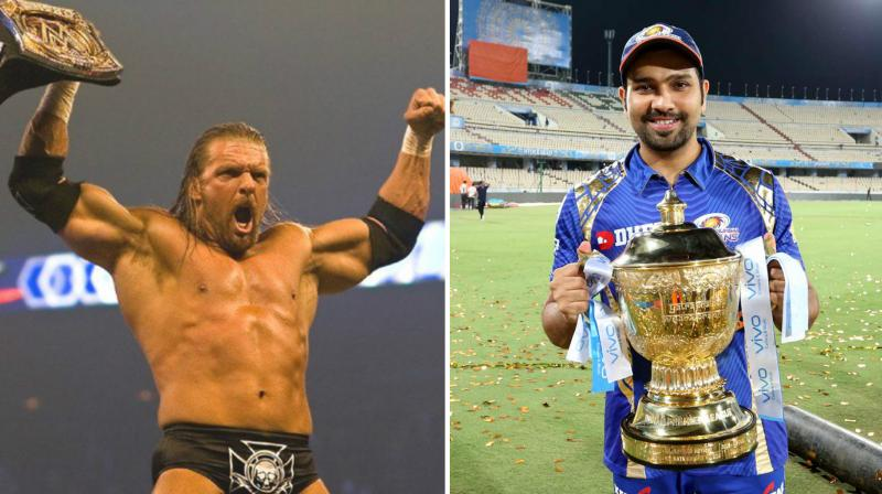 Triple H Sends a Special Gift for Mumbai Indians! Twitter Can't get enough of the gift!