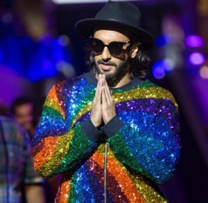Ranveer Singh is Back with a New Style Fashion, Turned Rainbow for a Show!