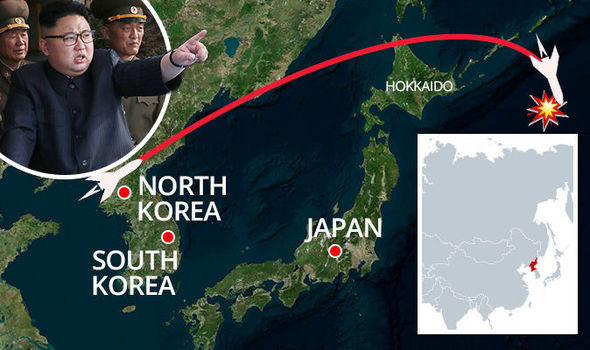 "North Korea Fires Missile Over Japan! Declared ""Security Threat"" By Japanese Govt!"