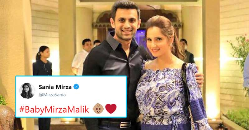 Sania Mirza & Shoaib Malik Announce Pregnancy News in the Most Creative Style. Everyone is Going Gaga over it