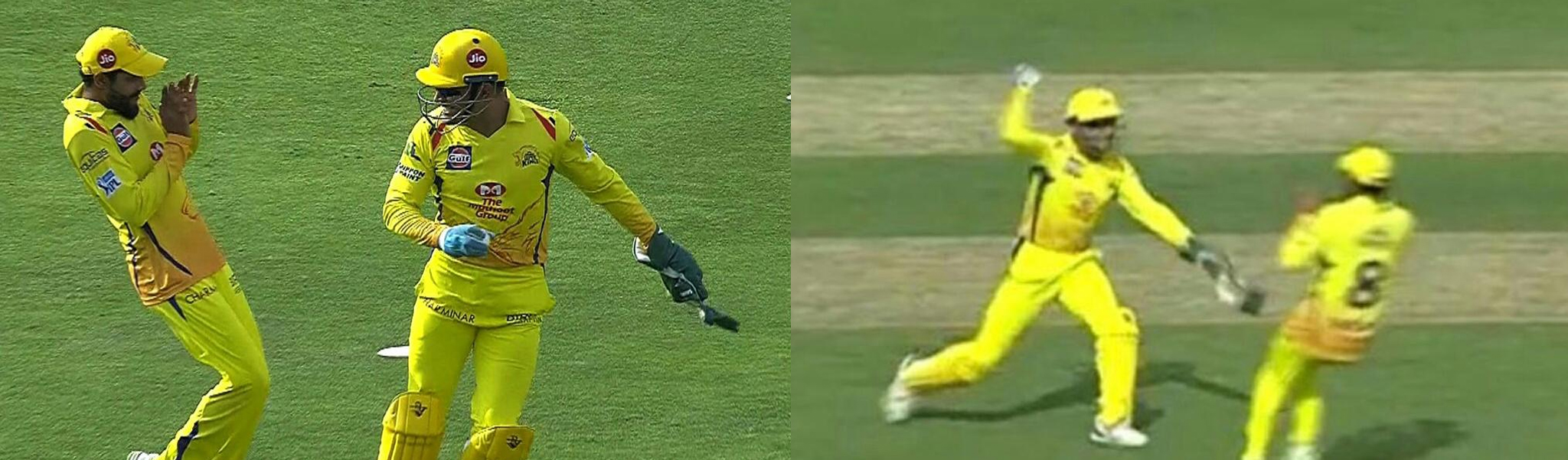 Dhoni Trolled Jadeja and Smiled After that, That Too on Field. Video Shows Funny Side of Dhoni.
