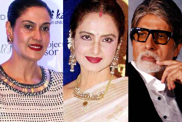 Rekha Still Wears a Sindoor, Even Though she is a Widow. Why?