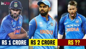 Virat is Paid Way More than Dhoni. Check out Revised Salary of Cricketers in 2018