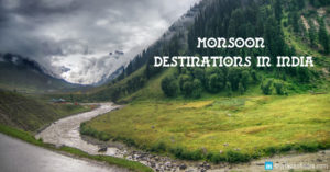 Discover the Top 10 Monsoon Destinations of Incredible India!