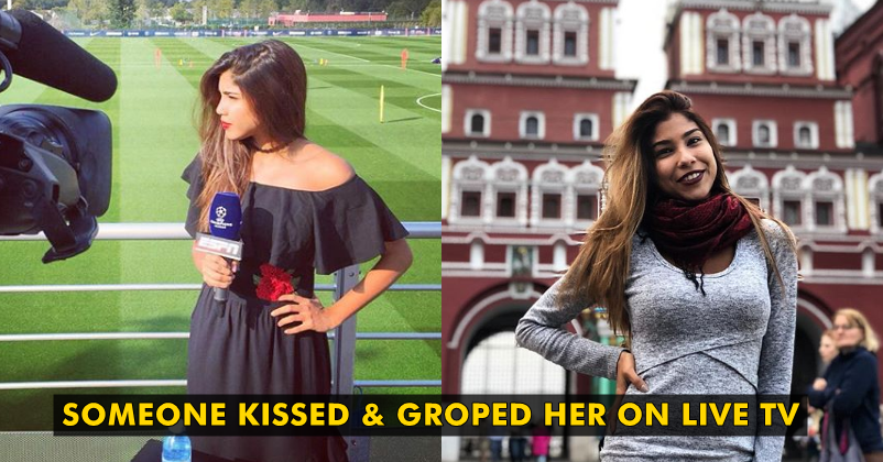 FIFA World Cup 2018 Reporter Kissed & Groped on Live TV. Shares Video