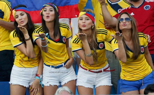 20 Beautiful Fans Spotted at FIFA World Cup 2018. You'll thank the Photographer for these Pics