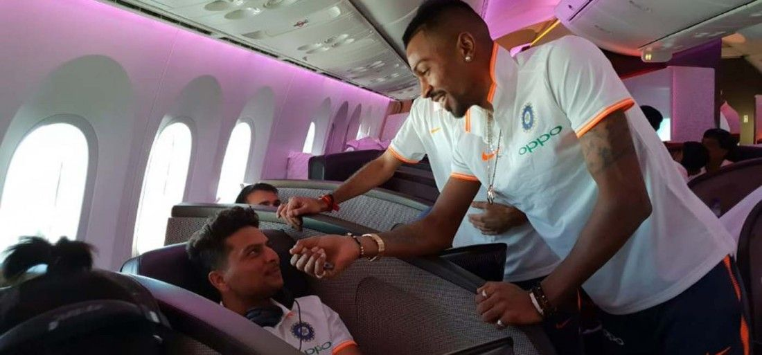 Hardik Pandya Fooled Indian Team. Watch Video & See How Dhoni Trolled Him Back