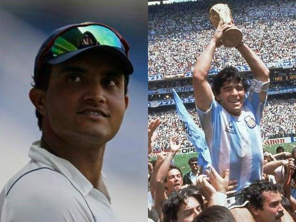 Sourav Ganguly Picked GOAT Footballer and He is Not Messi & Ronaldo