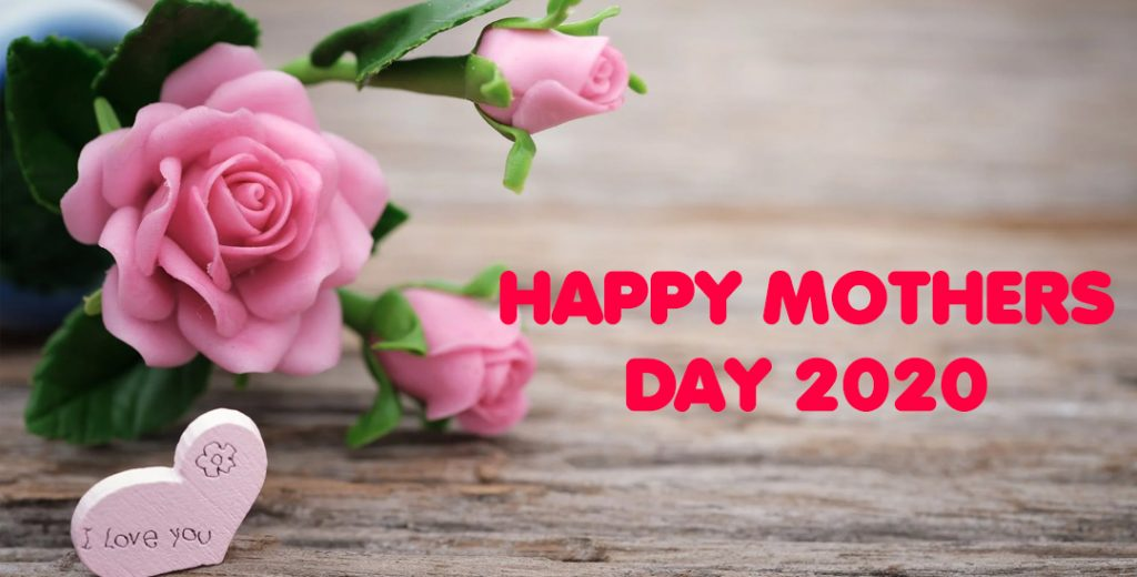 Happy mothers Day banner 2020