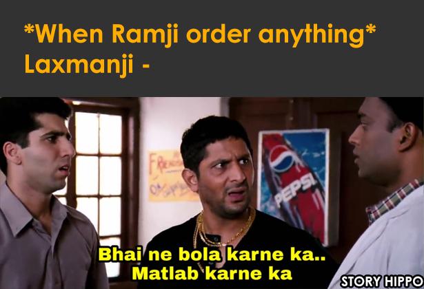 bhai ne bola karne meme laxman ramayana