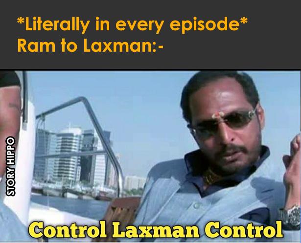 control laxman control ramayana meme