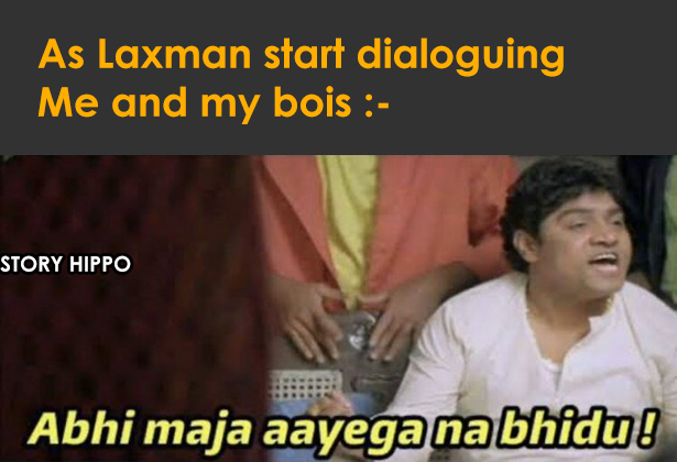 laxman savage replay meme jhony lever