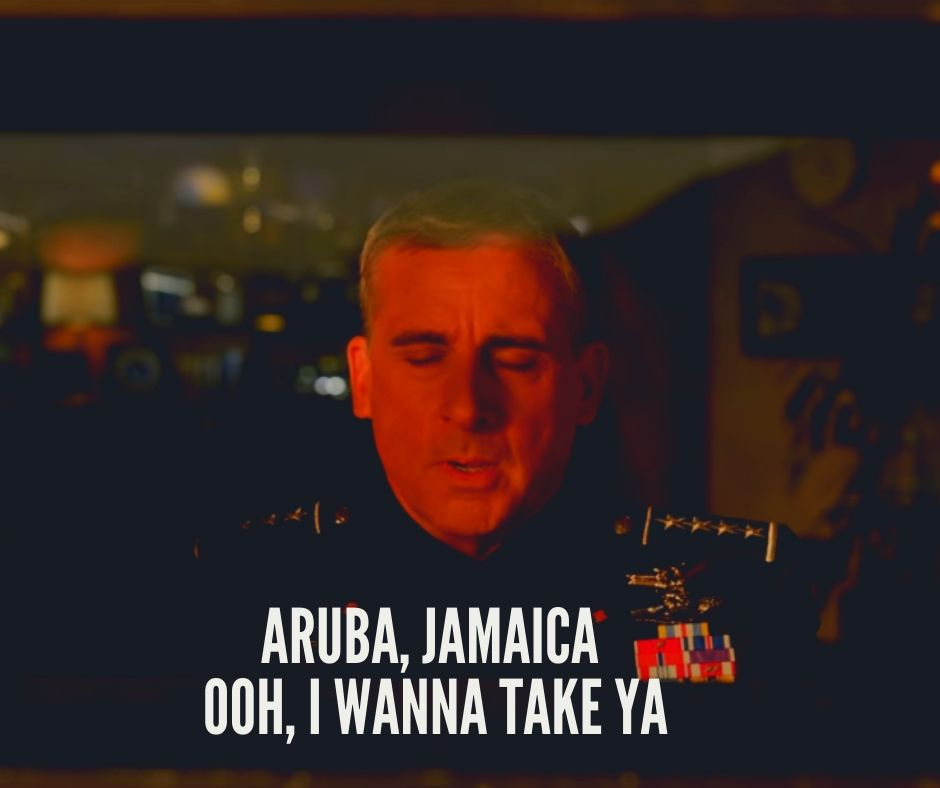 Aruba, Jamaica Ooh, I wanna take ya