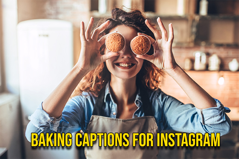 baking captions for instagram