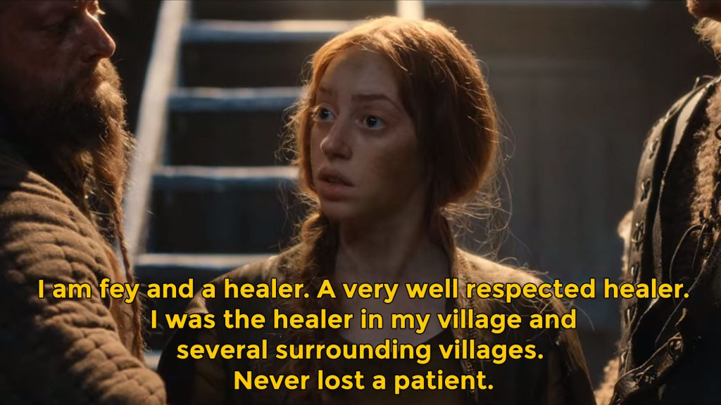 I am fey and a healer. A very well respected healer quote pym