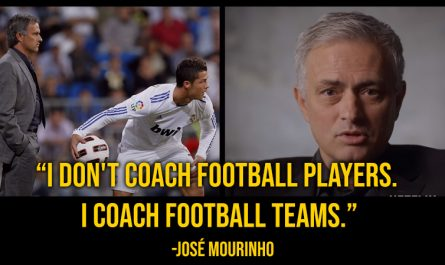 José Mourinho quotes netflix series the playbook