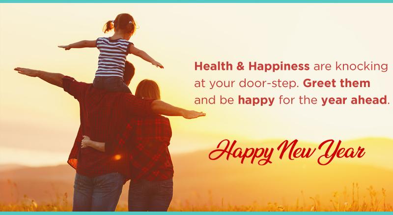 happy new year wish family