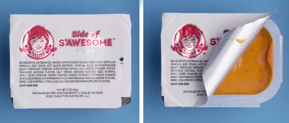Side of SAwesome dipping sauce