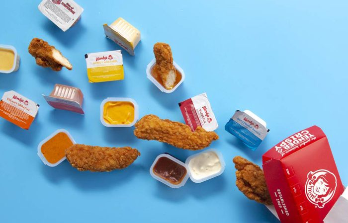 List of All Wendy's Dipping Sauces, Nutrition Value vegan