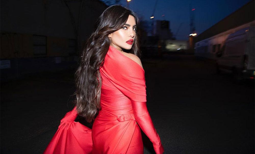 Priyanka Chopra Jonas in beautiful red gown