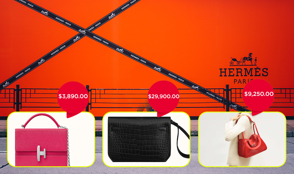 hermes expensive bags collection