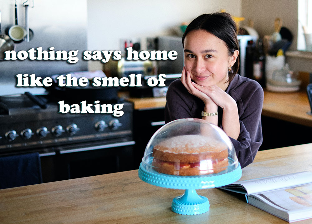nothing says hoe like the smell of baking quote caption
