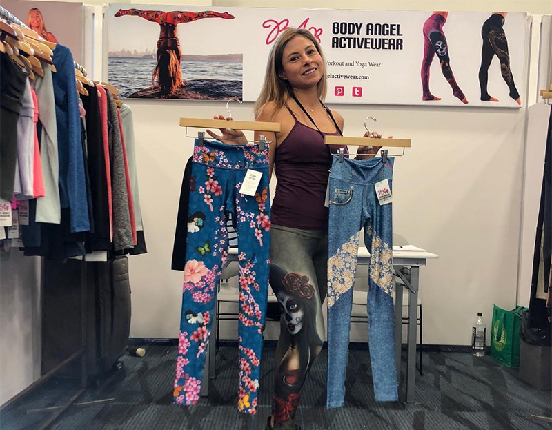 Body Angel Activewear yoga brand store