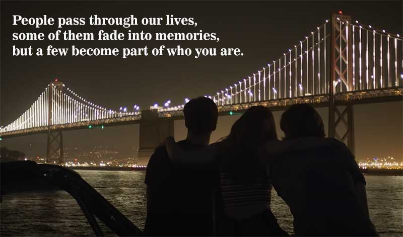 People pass through our lives kissing booth 3 quotes