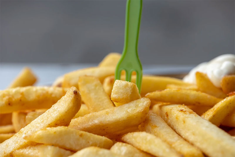 standard cut French fries