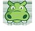 story hippo logo