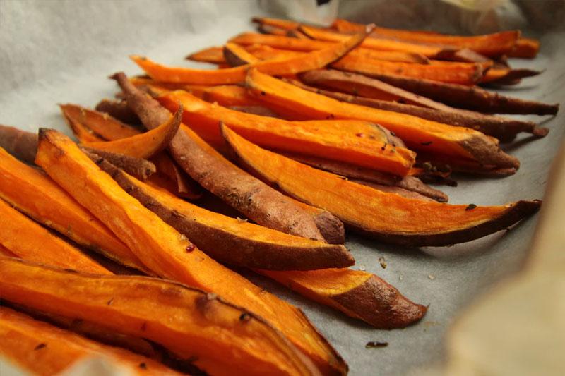 sweet potato french fries
