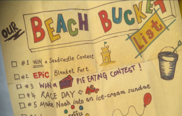 Beach Bucket List The Kissing Booth